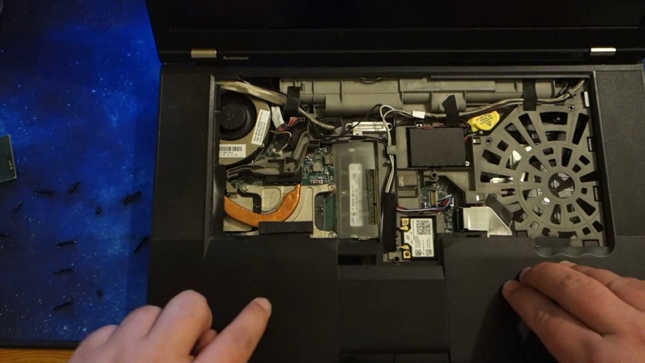 Lenovo Thinkpad T520 CPU upgrade Core i5 2520M to i7 2760QM