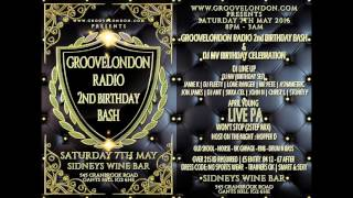 Groovelondon 2nd Birthday Bash & Dj Mv Birthday Celebration Advert