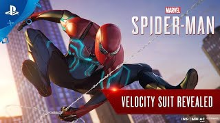 Marvel's Spider-Man – All suits Revealed ( Velocity suit, Iron Spider Suit and more )Pre-order Video