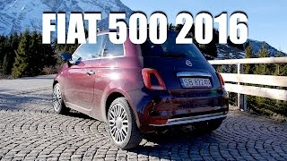 Fiat 500 TwinAir 2016 (ENG) - Test Drive and Review