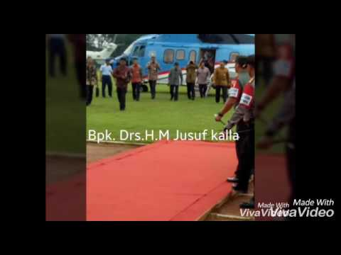 Bpk.Drs.H.M Jusuf kalla in Tulungagung