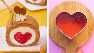 My Favorite Heart Cake Decorating Ideas | So Tasty Colorful Cake Compilation | Yummy Cake