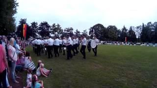 Schützenfest in Lippstadt-Cappel 2015: Fahnenmarsch Teil 2