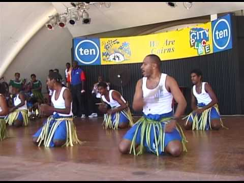The Malukazil Dancers perform in Cairns, Australia (1)