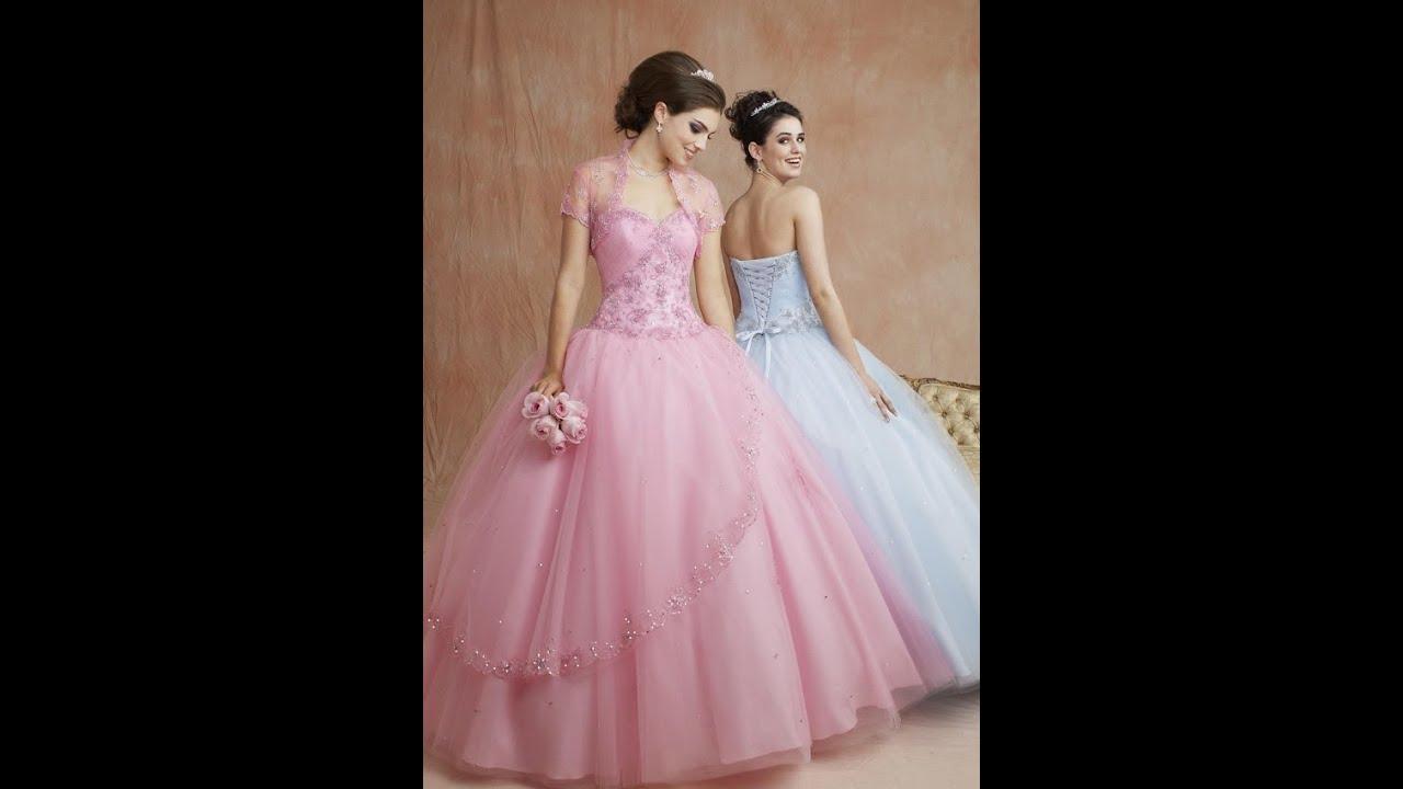 aa2000f8f صور فساتين خطوبة روعة - ألوان جميلة لفساتين الخطوبة 2013 - YouTube