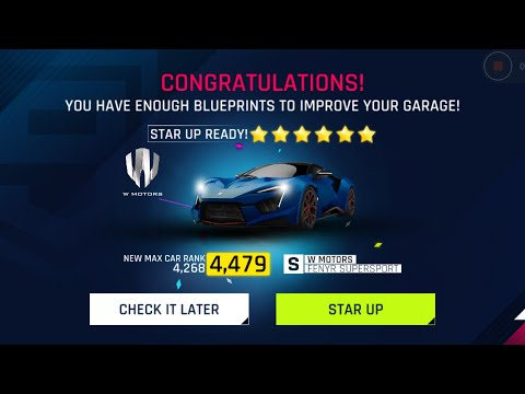 Asphalt 9 Legends : Fenyr SuperSport 6 Star Up/ Upgrades / Race Test 😍🔥