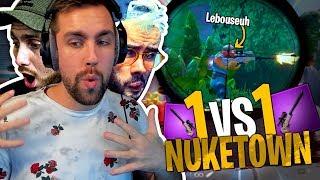 Je détruis la Team Croûton ! 1vs1 Sniper Nuketown sur Fortnite Créatif