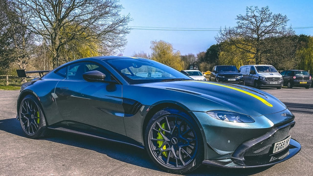 Aston Martin Amr Manual Modification Aero Kit Only One In The World Youtube