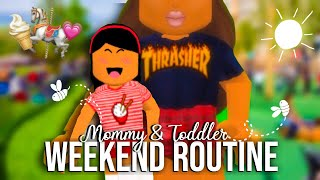 TEEN MOM: DIA EN LA VIDA ♡ Roblox Bloxburg ? Sunset Safari