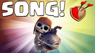 "Clash of Clans ""WALL BREAKER SONG!"" Clash of Clans Track 5/10 New Album!"