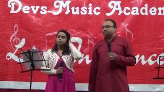 Yeh hasee waadiya - Roja - Vikrant & Kimaya at Devs Music Karaoke Night www.devsmusic.in