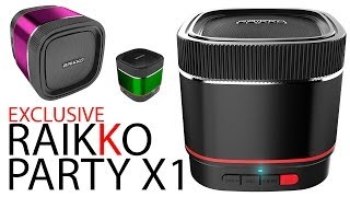 EXCLUSIVE - Der neue RAIKKO PARTY X1 Speaker