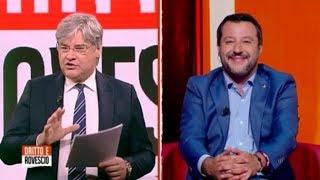 MATTEO SALVINI OSPITE DA PAOLO DEL DEBBIO (30.05.2019)