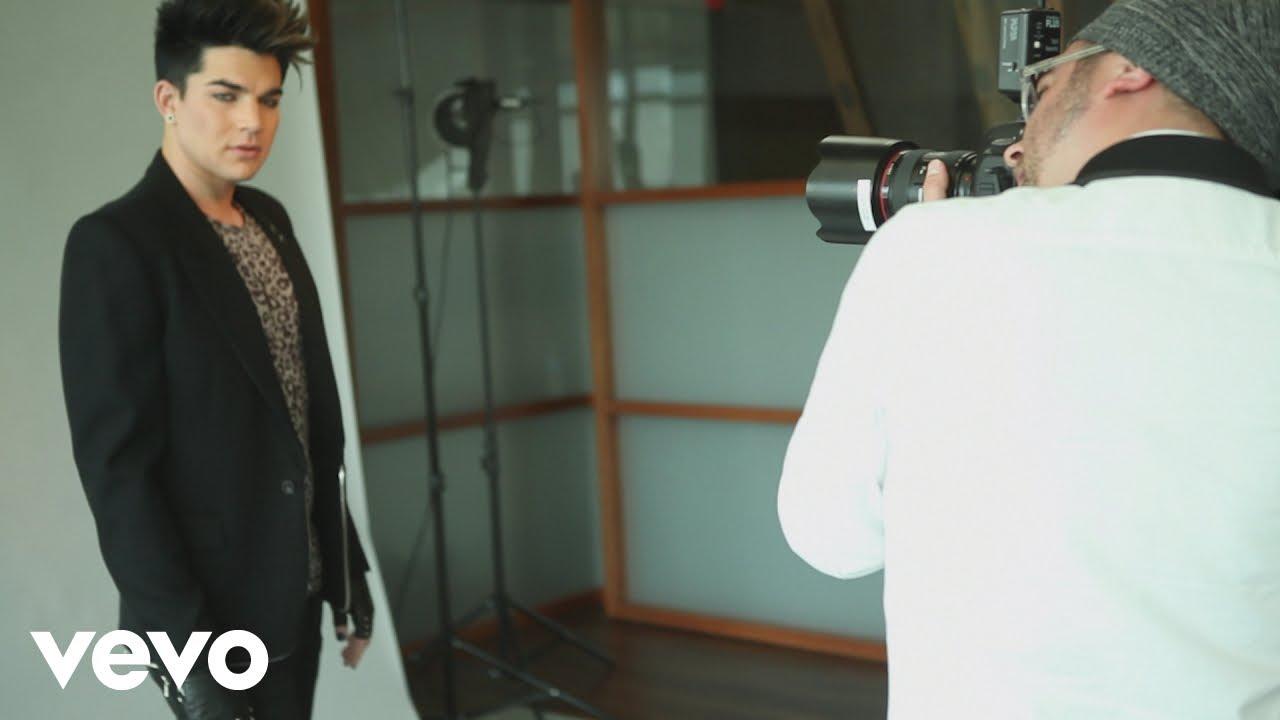 Adam Lambert - Behind the Scenes (Sessions @ AOL 2012)
