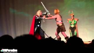 San Diego Comic Con 2013 Masquerade - 28 Thunder Pumped He-Man Thor