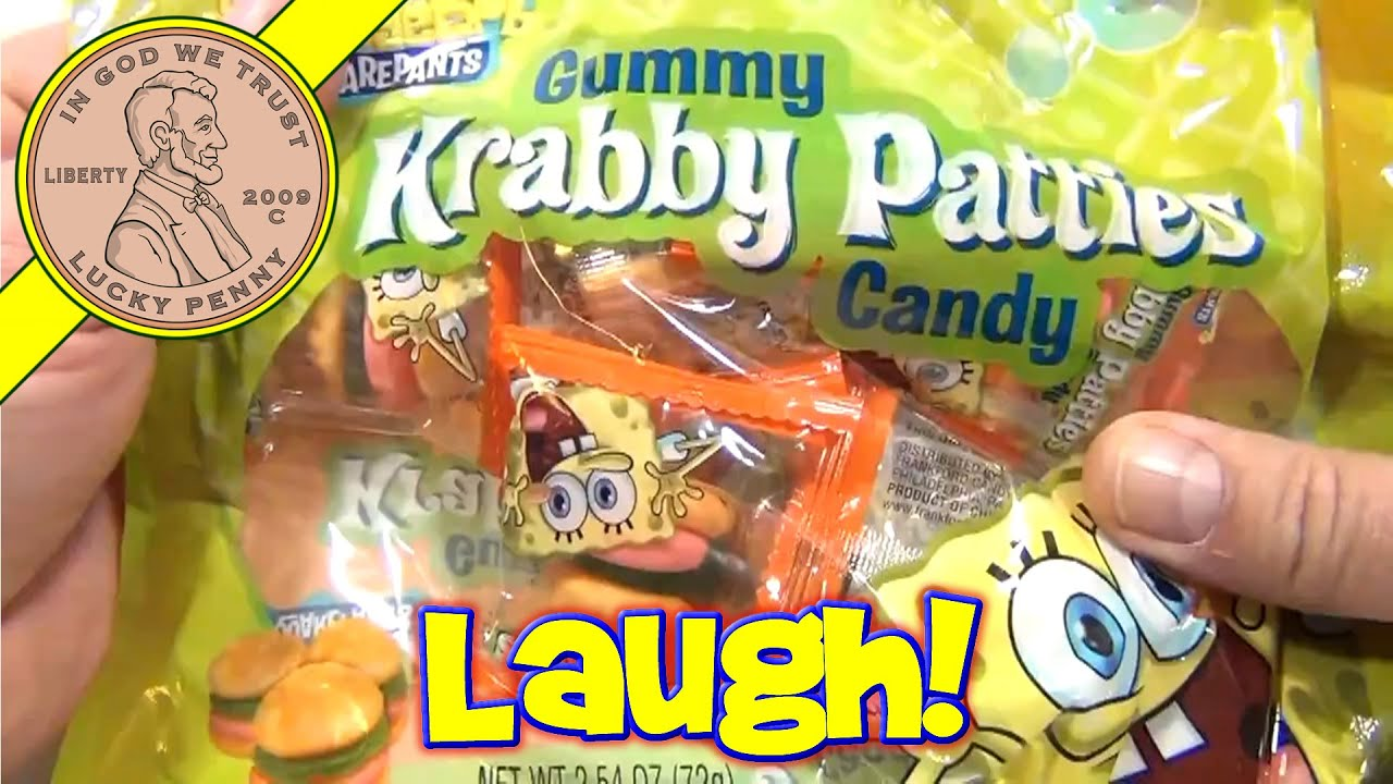 Let S Learn About The Spongebob Squarepants Gummy Krabby