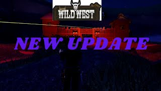 THE WILD WEST NEW UPDATE [FORTS GUNS] ROBLOX