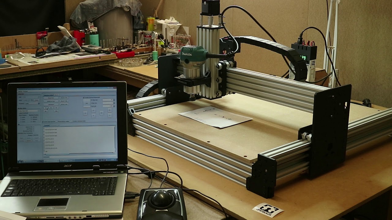 Workbee Cnc X Pro Ooznest Openbuilds Project Youtube