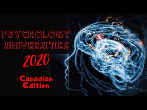 Canada's Best Universities For Psychology 2020