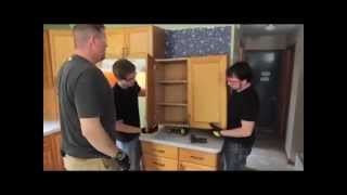 Kitchen Cabinets NJ - How To Remove Kitchen Cabinets (Step 1)