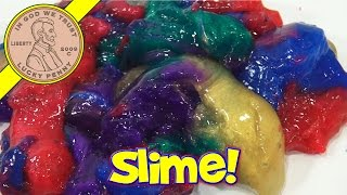 Swirly Slime From The Book Of Life - Squishy Rainbow Fun!