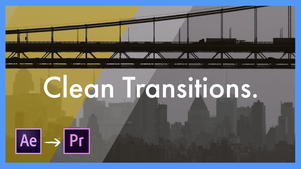 clean transition template pack adobe after effects cc to premiere