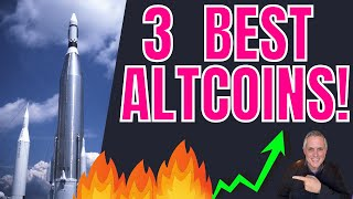 3 BEST ALTCOINS! BIG PRICE CHANGES COMING! CRYPTOCURRENCY NEWS!