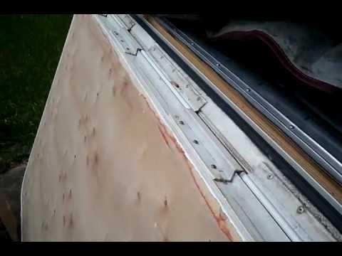 30. Kodiak Scamper Bunk End Door Repair: Attached to ...