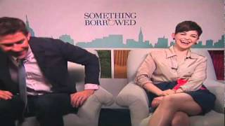 "Kate Hudson and the cast of ""Something Borrowed"" talk all things dating with Andrew Freund"