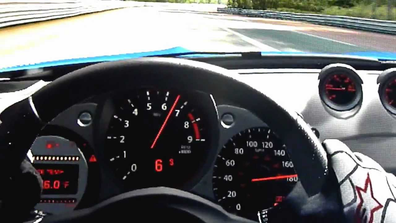 Nissan 370z Top Speed - YouTube