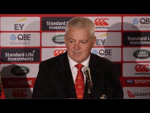 "Press Conference: Gatland: ""That was a clinical performance"" 