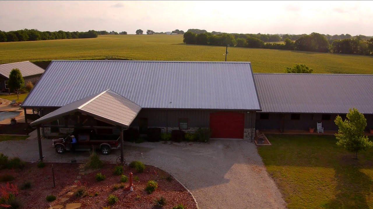 Steel Buildings U0026 Metal Roofing   Multi Functional Facility | Mueller, Inc    YouTube