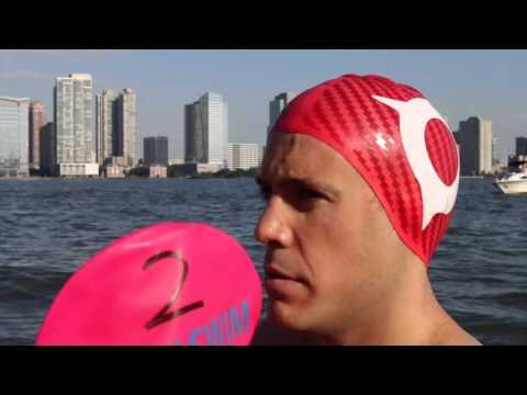 Manhattan Island Marathon Swim - Xabi Elizegi