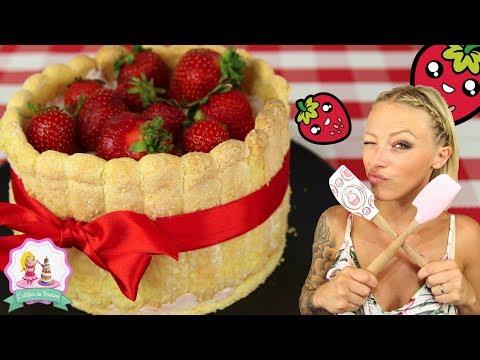 ♡•-recette-charlotte-aux-fraises-•♡