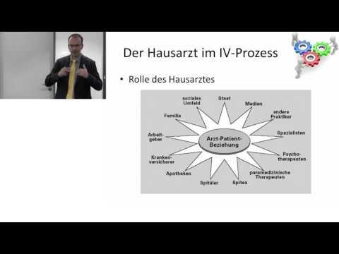 Die Rolle des Hausarztes im IV-Verfahren