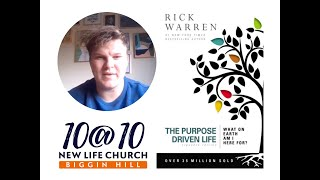 10@10 - The purpose driven life - Day 34 - James Hill