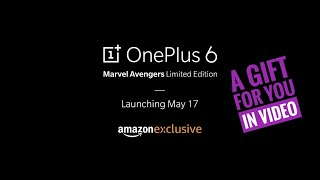 OnePlus 6 Avengers Edition & A Gift For You in This Video