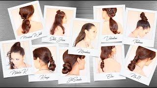 12 peinados de pasarela fáciles y rápidos 12 fast and easy runway hairstyles