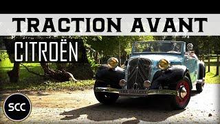 Citroën / Citroen Traction Avant 11B 1938 Cabriolet - Test drive in top gear - Engine...