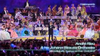 André Rieu - The Waltz Strauss Medley ( Movistar Arena, Santiago de Chile - 23.08.2015 )