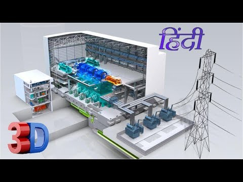 Electrical Power Generation to Distribution in Hindi
