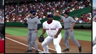 MLB 2006 PS2 - Boston Redsox vs New York Yankees - BIG HITTING GAME! 25+ Runs! (Playstation 2)