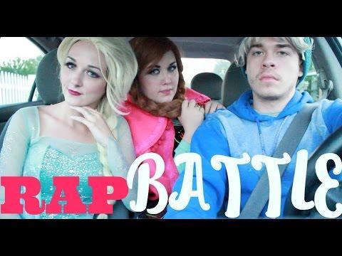 RAP BATTLE - JELSA VS ANNA
