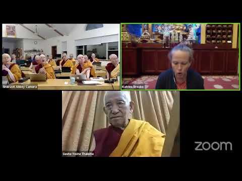 03 Pramanavarttika with Geshe Yeshe Thabkhe: Sixteen Aspects of the Four Truths 10-06-20