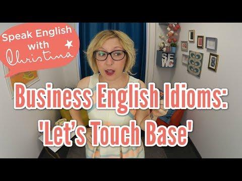 American English Idioms: