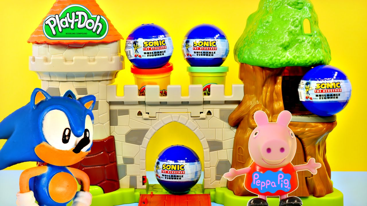 Play Doh and Plastilina Figures - How to Play Doh Cartoon ...