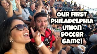 OUR FIRST PHILADELPHIA UNION SOCCER GAME | LIFEWITHLO