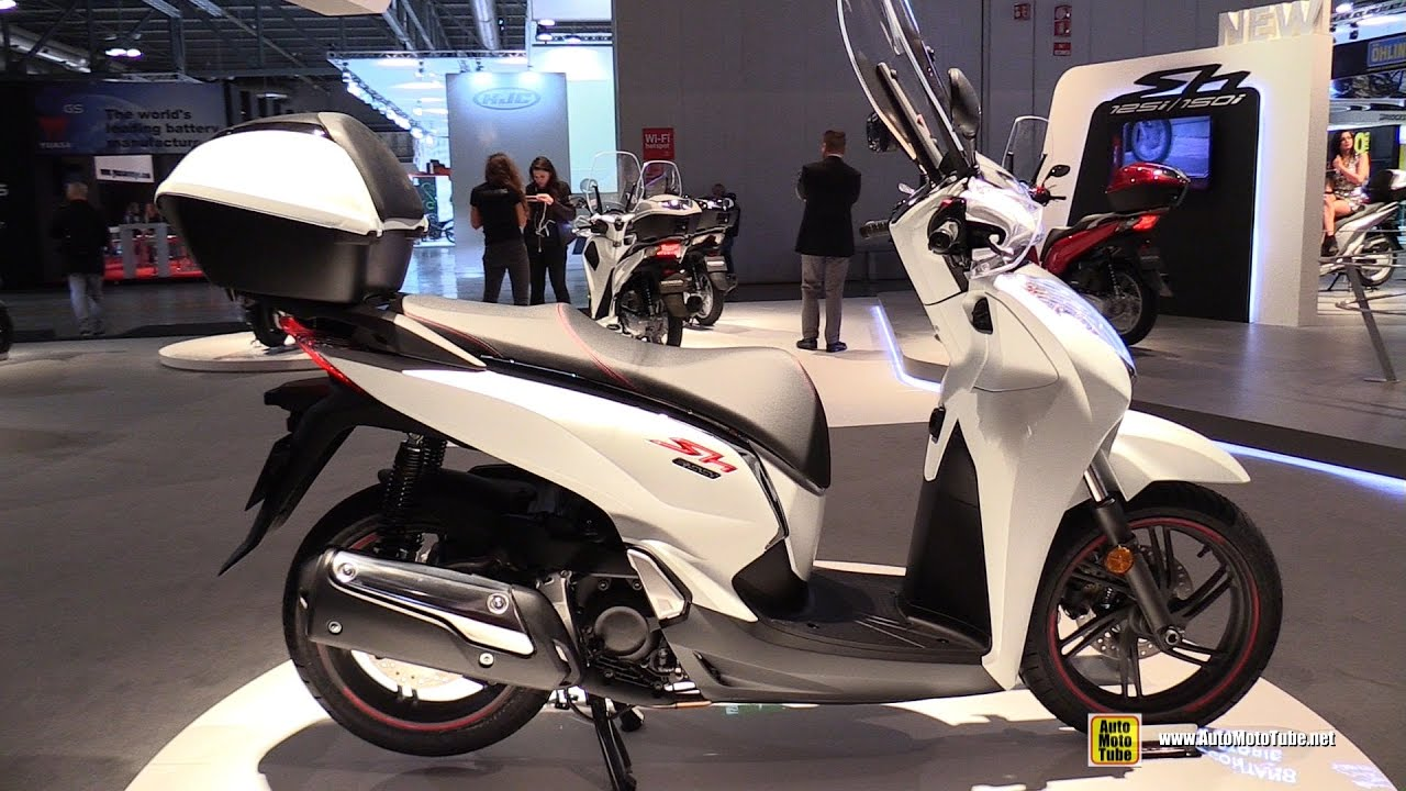 2017 honda sh 300i scooter walkaround 2016 eicma milan. Black Bedroom Furniture Sets. Home Design Ideas