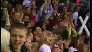 DINAMO RIGA - CKA Latvian best hockey commentator KREIPANS emotions