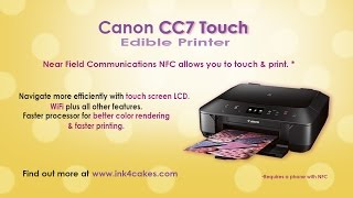 canon edible printer cc7 touch